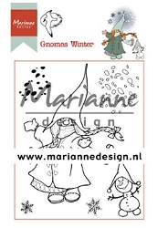 Marianne Design - Clear Stamp - Hetty's Gnomes Winter