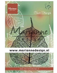 Marianne Design - Clear Stamp - Tiny's Skeleton Leaf