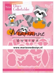 Marianne Design - Collectables Die - Eline's Raccoon