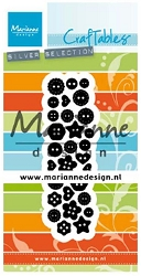 Marianne Design - Craftables Die - Punch Die Buttons