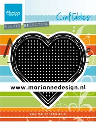 Marianne Design - Craftables Die - Cross Stitch Heart