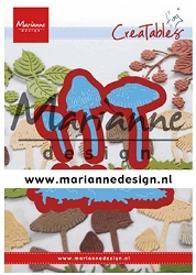 Marianne Design - Creatables Die - Tiny's Mushrooms