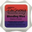 Marvy Posh Blending Blox Ink Pads - Shades of Sunset