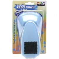 Marvy Super Jumbo Punch - Scalloped Square (1 3/8
