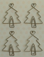 Maya Road - Metal Vintage Trinket - Christmas Tree Clips