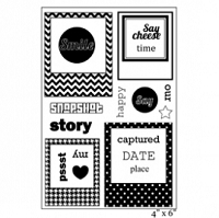Maya Road - Clear Stamps - You've Been Framed Stamp Set