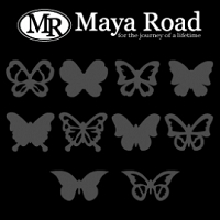 Maya Road - Butterfly Mask Set :)