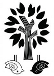 Maya Road Singleton Clear Stamps - Tree/birds