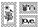 Maya Road Singleton Clear Stamps - Forever Postage Stamp