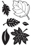 Maya Road Singleton Clear Stamps - Leaves