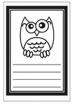 Maya Road Singleton Clear Stamps - Smarty Owl