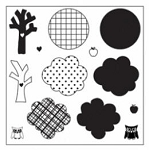 Maya Road Singleton Clear Stamps - Create-a-Forest