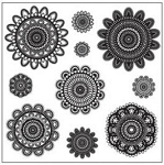 Maya Road Singleton Clear Stamps - Doilies