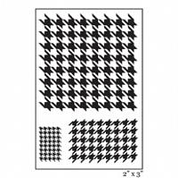 Maya Road - Singleton Clear Stamp - Houndstooth