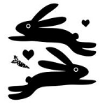 Maya Road Singleton Clear Stamps - Rabbits