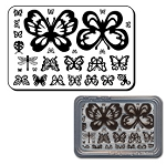 Maya Road Clear Stamp Set - Butterflies
