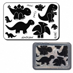 Maya Road Clear Stamp Set - Dinosaurs