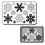 Maya Road Clear Stamp Set - Snowflakes