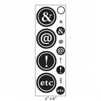 Maya Road - Clear Stamp - Etc Stamp Strip