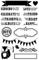 Maya Road - Clear Stamp - Banner Sentiments