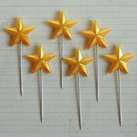 Maya Road - Trinket Pins - Super Star Gold