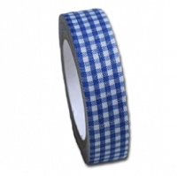 Maya Road Fabric Tape - Ocean Blue Gingham