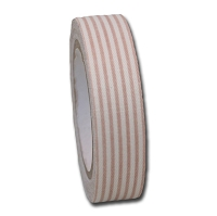Maya Road Fabric Tape - Stripes - Fire Red
