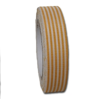 Maya Road Fabric Tape - Stripes - Sun Yellow