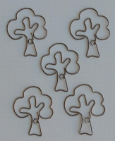 Maya Road - Metal Vintage Trinket - Old Oak Tree Clip :)