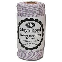 Maya Road - Twine - Lavender Fields