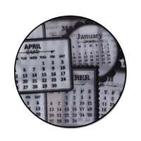 Maya Road - 2010 Mini Sheer Calendars - Black & White