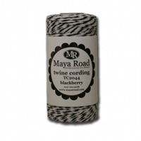 Maya Road - Twine - Blackberry Twine Cording