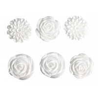 Melissa Frances - Embellishments Resin - Blossom Assortment (6 pcs)