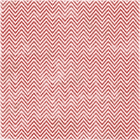 Melissa Frances - 12x12 Single Sided Cardstock - Holiday Chevron