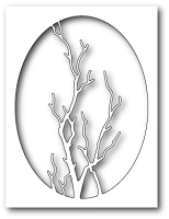 Memory Box - Die - Graceful Branch Oval
