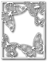 Memory Box - Die - Drifting Butterfly Frame