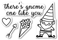 Memory Box - Open Studio Clear Stamp Sets - Gnome One Like You clear stamp set
