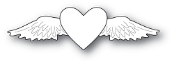 Memory Box - Die - Winged Heart