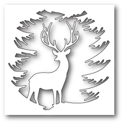 Memory Box - Die - Evergreen Reindeer