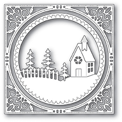 Memory Box - Die - Country Church Frame
