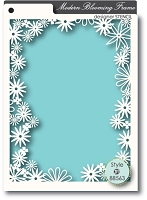 Memory Box - A6 Stencil - Blooming Frame