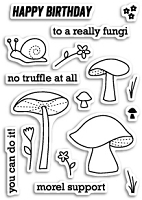 PoppyStamps - Clear Stamp Set - No Truffle At All