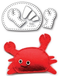 Memory Box - Die - Plush Cute Crab