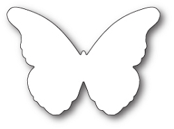 Memory Box - Die - Chantilly Butterfly Background
