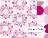 Memory Box-12x12 Cardstock Paper-Sweetheart-Modern Dots