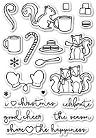 PoppyStamps - Clear Stamp Set - Cup of Cheer