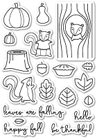 PoppyStamps - Clear Stamp Set - Falling For You