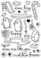 PoppyStamps - Clear Stamp Set - Snow One Like You