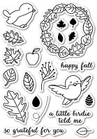 Memory Box - Open Studio Clear Stamp Sets - Autumn Birdie