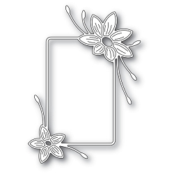 Memory Box - Die - Starflower Flower Frame